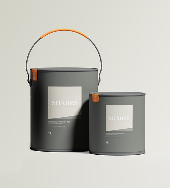 Paint Packaging Mockup CORAL